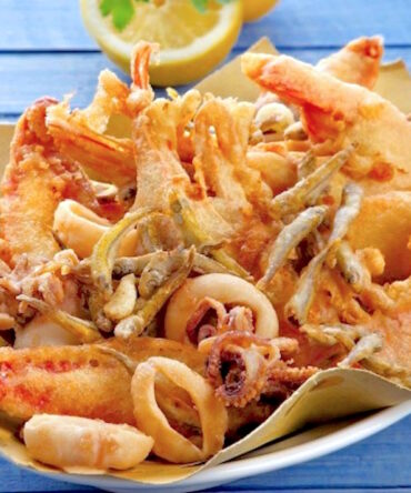 Frittura de gambas y calamares