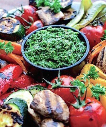 Verduras a la brasa